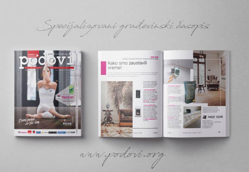 Časopis PODOVI - Hidroizolacija & Termoizolacija broj 51, avgust 2021