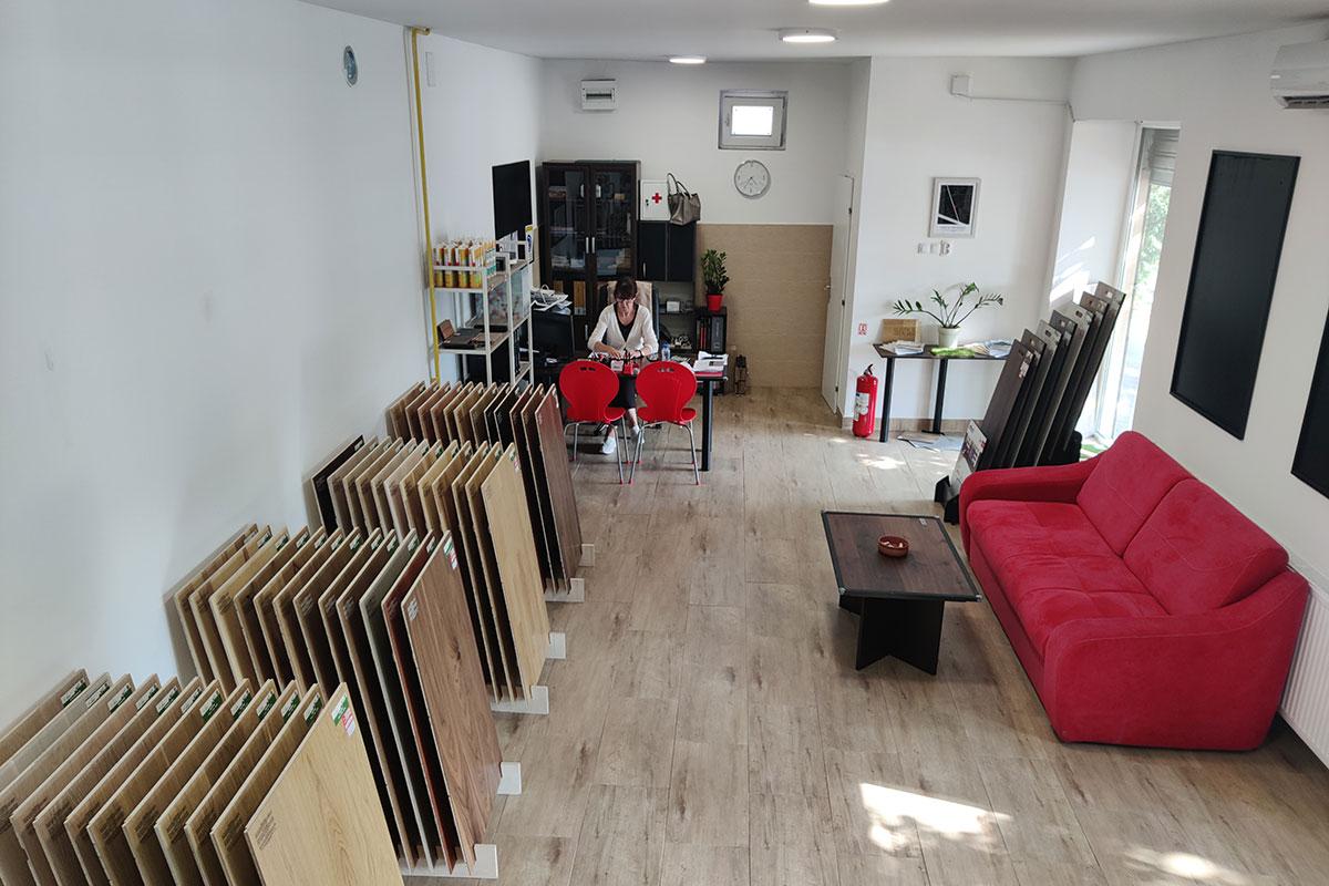 PRUNUS doo, prodajni salon u Temerinskoj ulici, Novi Sad