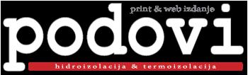 Časopis Podovi - Hidro i termo izolacija